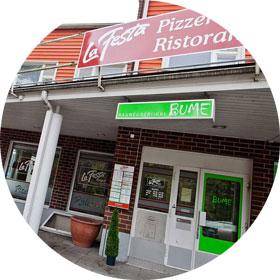 La Festa Kempele pizzeria sisältä
